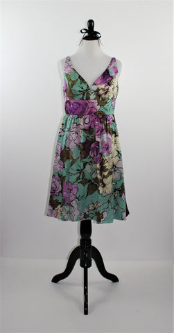 ADRIANNA PAPELL - Floral Dress