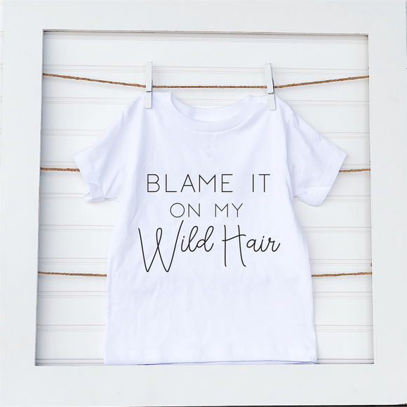 Wild hair- Toddler