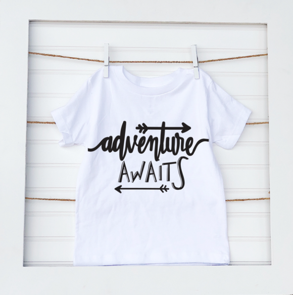 Adventure Awaits- Baby Tee