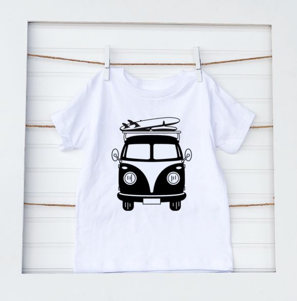 Surf Bus- Baby Tee