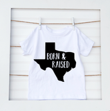 Born & Raised- Baby Tee