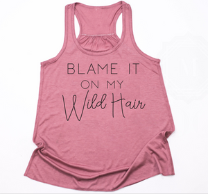 Wild Hair- Girls Tank