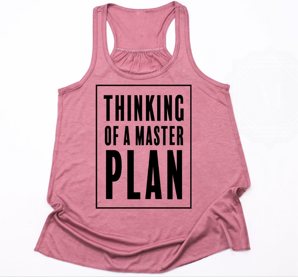 Thinking of a Master Plan- Girls Tank