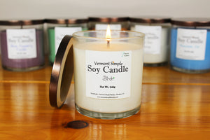 All Natural Soy Candles Vermont Simple Beauty