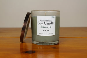 Balsam Fir All Natural Soy Candle Vermont Simple Beauty