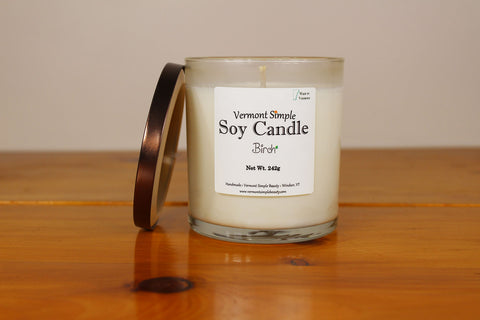 All Natural Soy Candle Birch