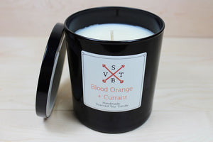 Blood Orange and Currant All Natural Luxury Candle