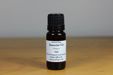 Ginger Essential Oil - Pure Therapeutic Grade