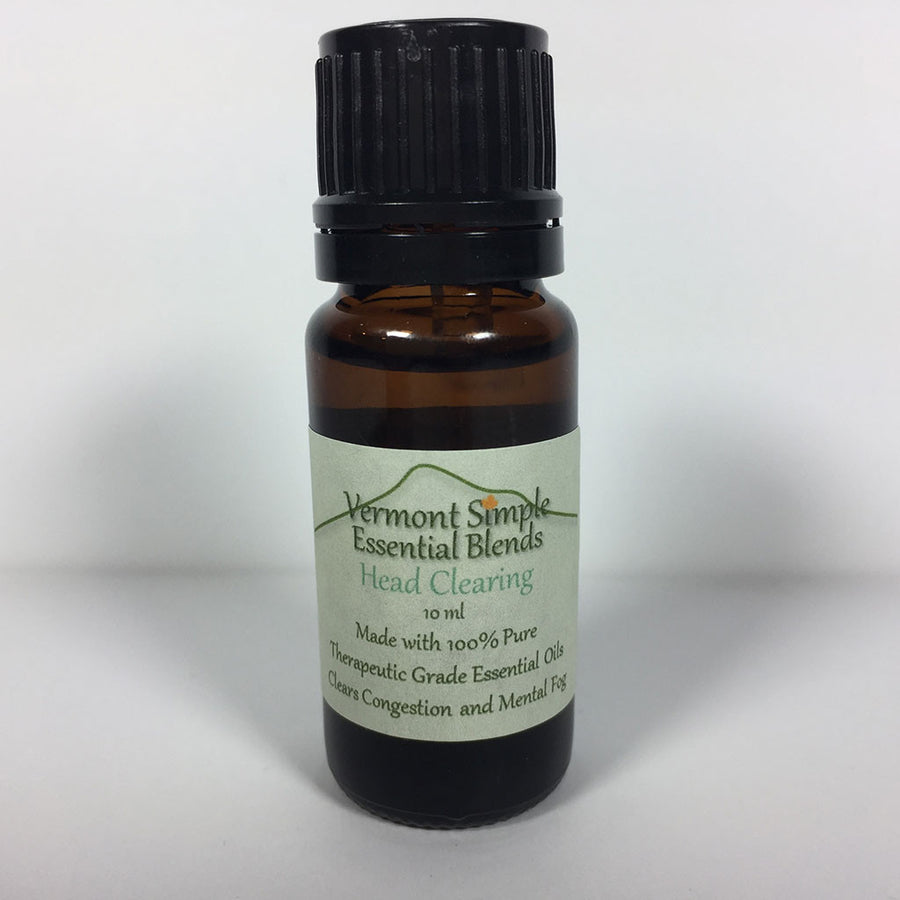 Head Clearing Essential Oil Blend - 10ml