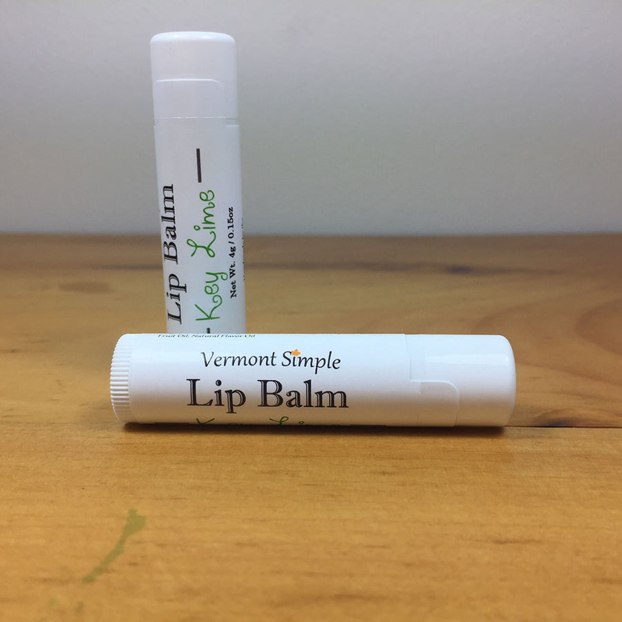 Vermont All Natural Lip Balm Key Lime