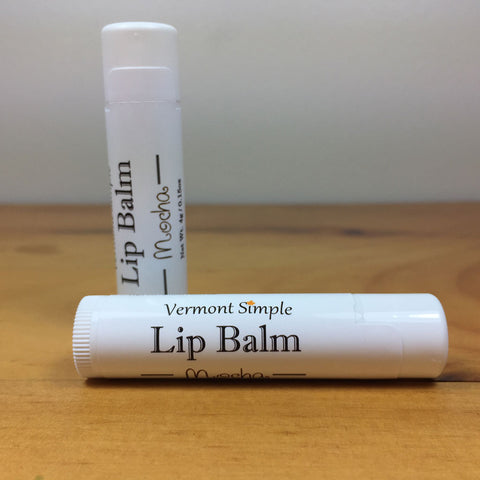 Vermont All Natural Lip Balm Mocha