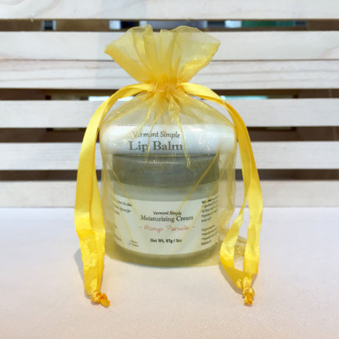 Stocking Stuffer Gift Set Vermont Simple Beauty Mango Paradise