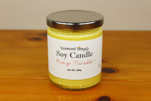 Mango Soy Candle All Natural