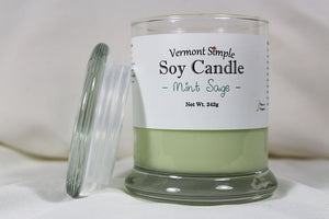 Mint Sage Soy Candle