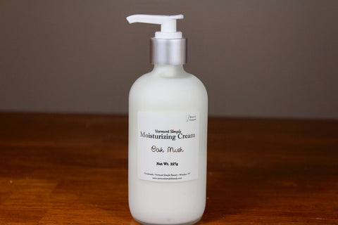 All natural lotion Oak Musk Vermont Simple Beauty