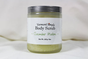 All Natural Body Scrub Cucumber Melon