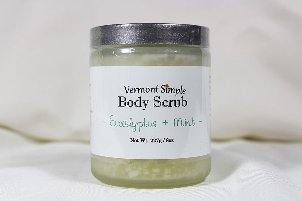 All Natural Body Scrub Eucalyptus & Mint