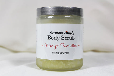 All Natural Body Scrub Mango Paradise