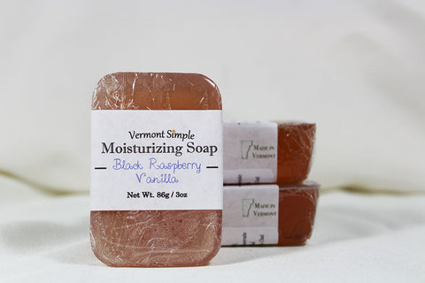 Black Raspberry Vanilla All Natural Soap