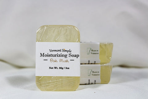 Oak Musk All Natural Soap