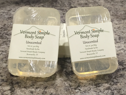Vermont Simple Body Soap Unscented 1