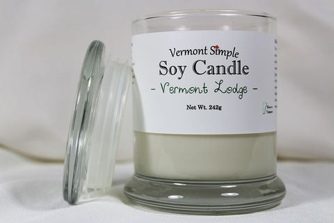 Vermont Simple Soy Candle Vermont Lodge