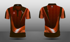 Spiked Swoosh Polo Jersey - Men's