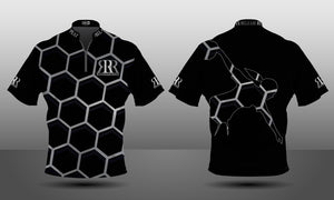 Custom Bowling Jerseys - Bee Hive Zipper - Women's