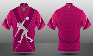 Cancer Awareness Majestic Zipper Jersey - Women's
