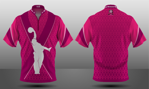 Cancer Awareness Majestic Zipper Jersey - Men's