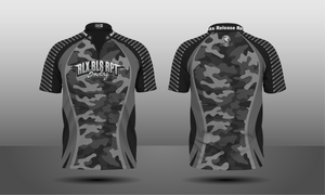 Camouflage Zipper Jersey - Men's