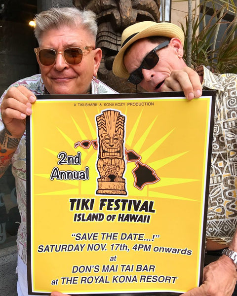 2nd Annual Tiki Festival to Showcase Legendary Artists