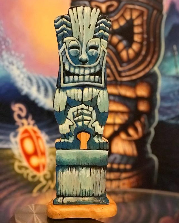 Tiki Joe Sign (15 inches) Handpainted - Limited Edition