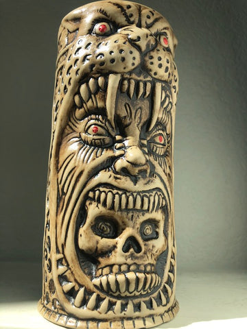 THE JAGUAR WARRIOR Tiki Mug - OPEN EDITION - PreSale