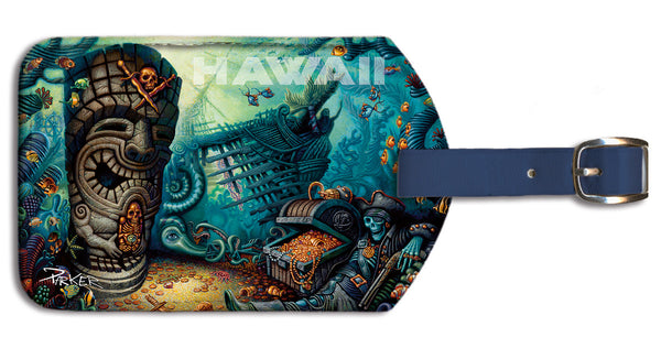 Beyond The Reef Luggage Tag