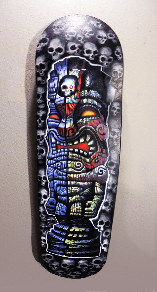 Tomb of the Tiki - Skate Deck - Limited Treasure - Halloween Special