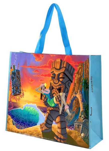 Forbidden Island Beach Bag