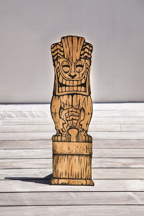 Tiki Joe Sign (11 inches)