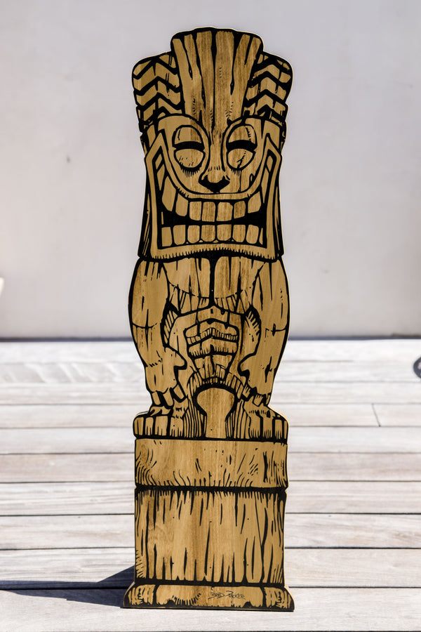 Tiki Joe Sign (32 inches)