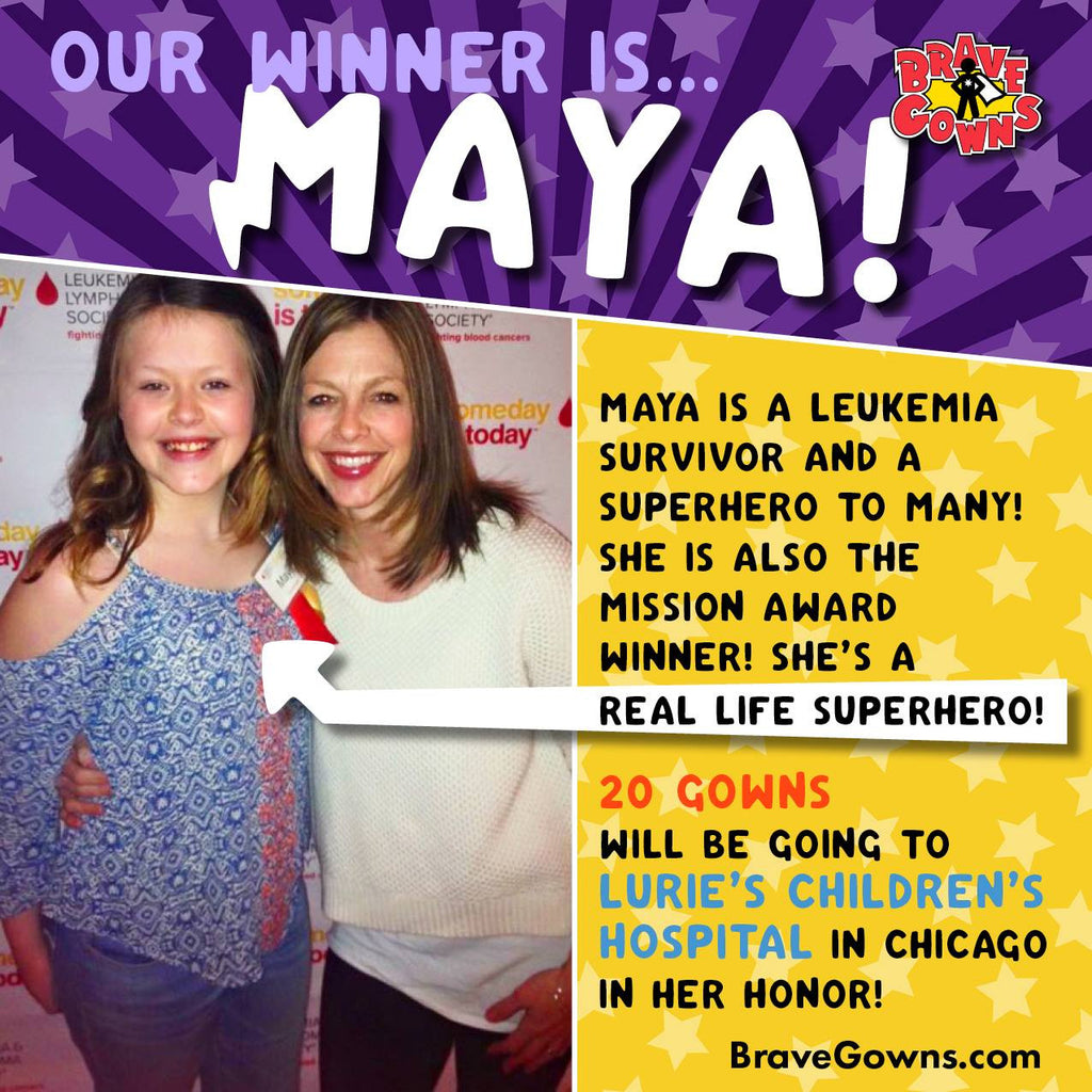 Maya Is The Winner Of Our First 20 Gown Give-Away!