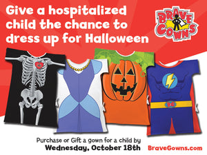Bring Halloween To Hospitalized Children!