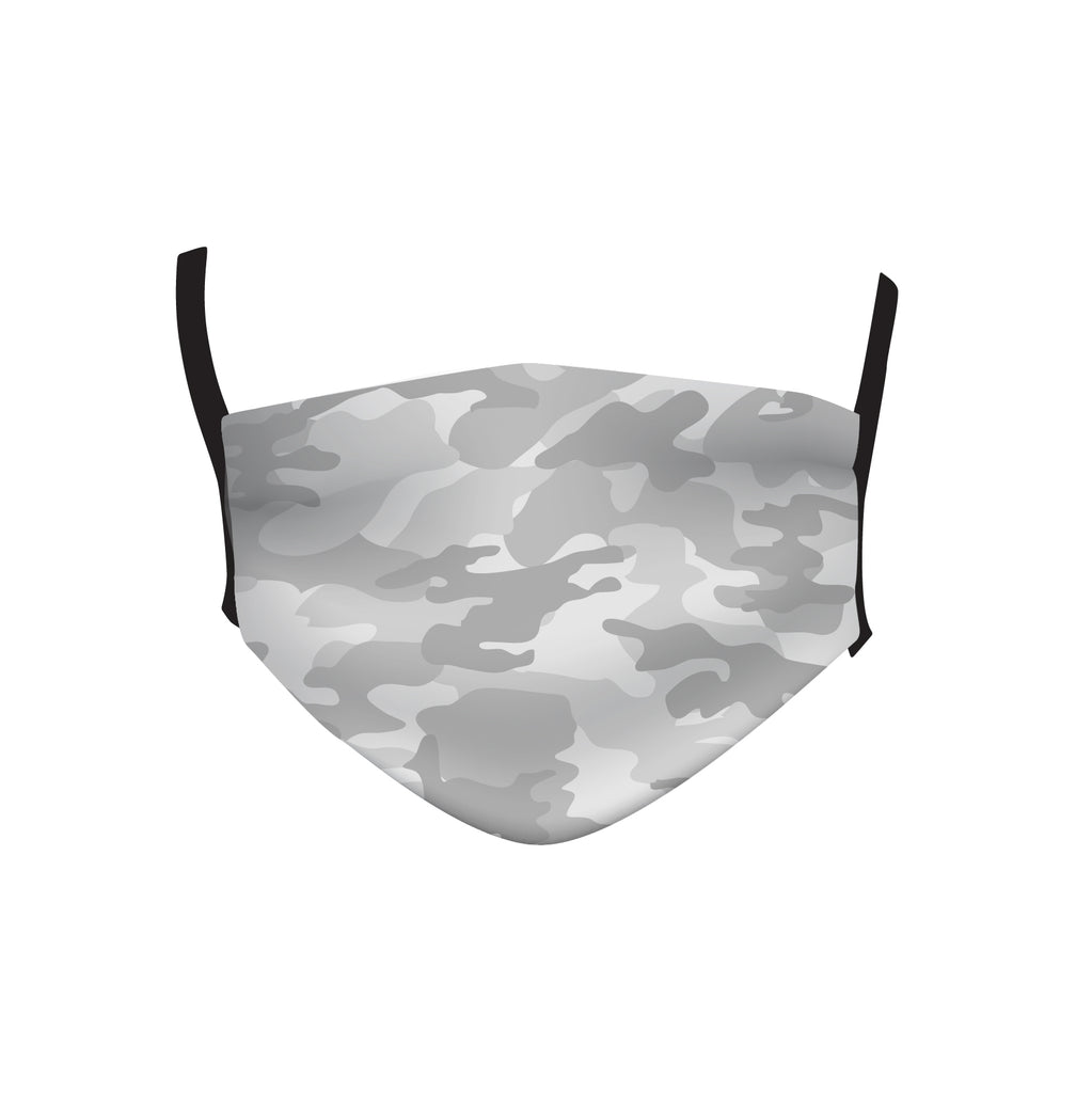 LIGHT GRAY CAMO MASK