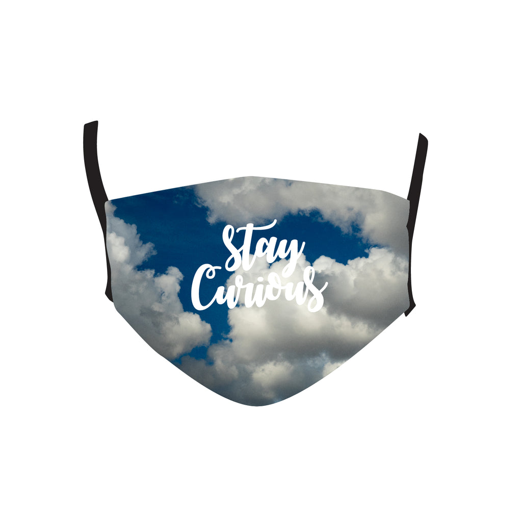 STAY CURIOUS MASK
