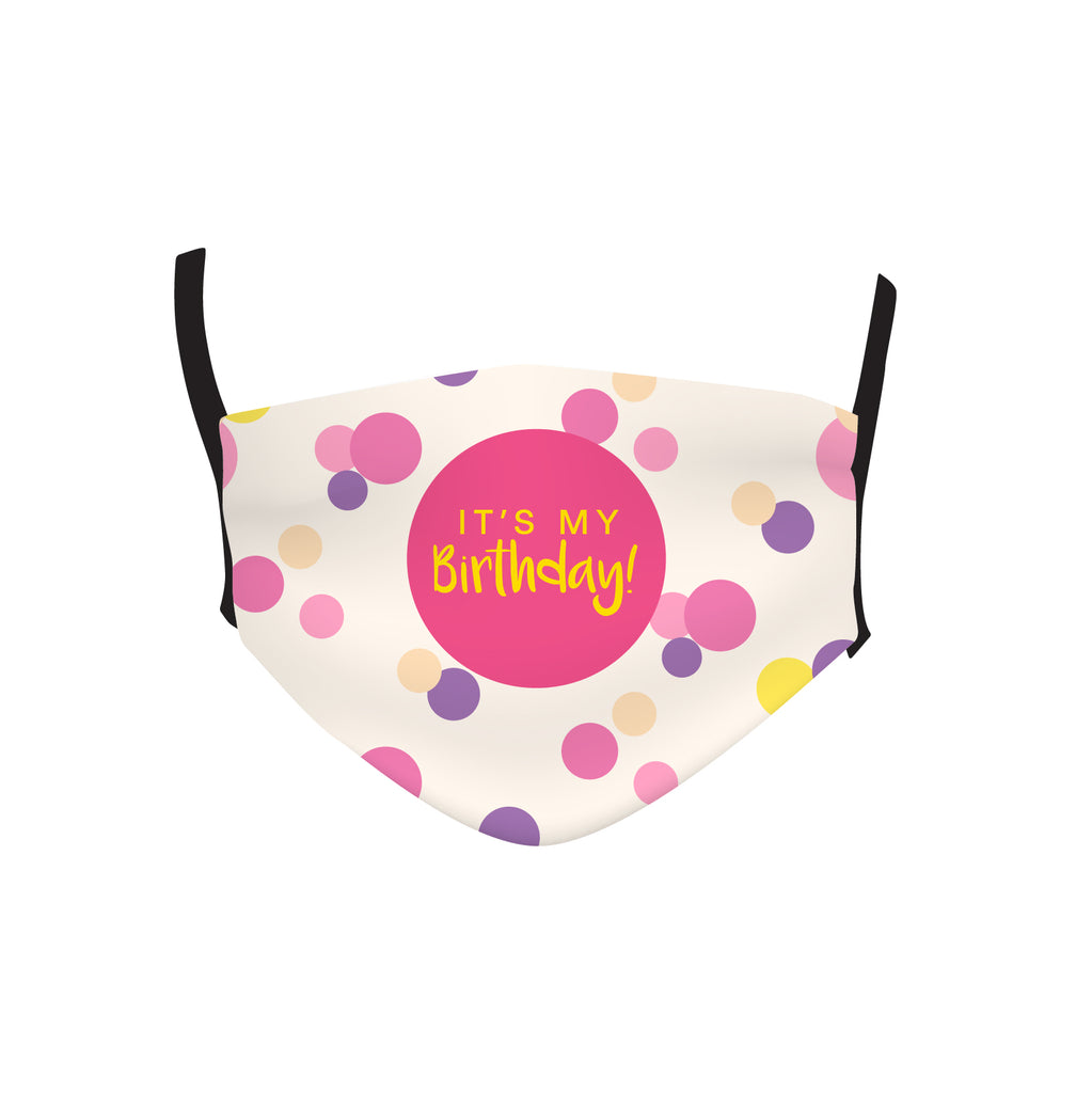BIRTHDAY DOTS MASK