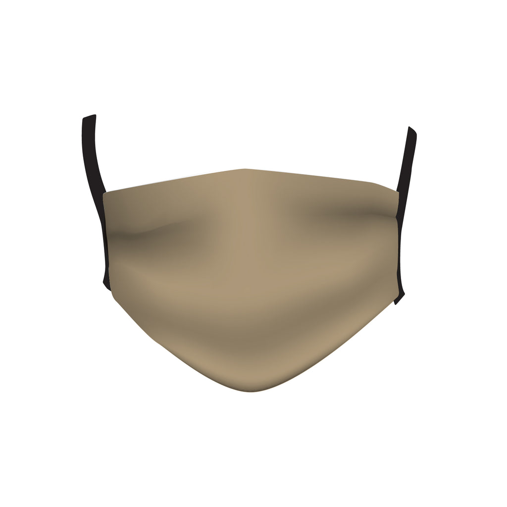 BEIGE SOLID MASK