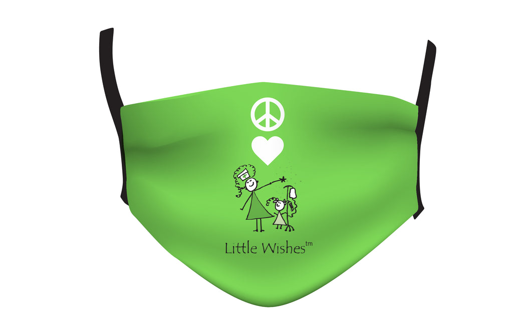 Little Wishes Peace and Love Mask
