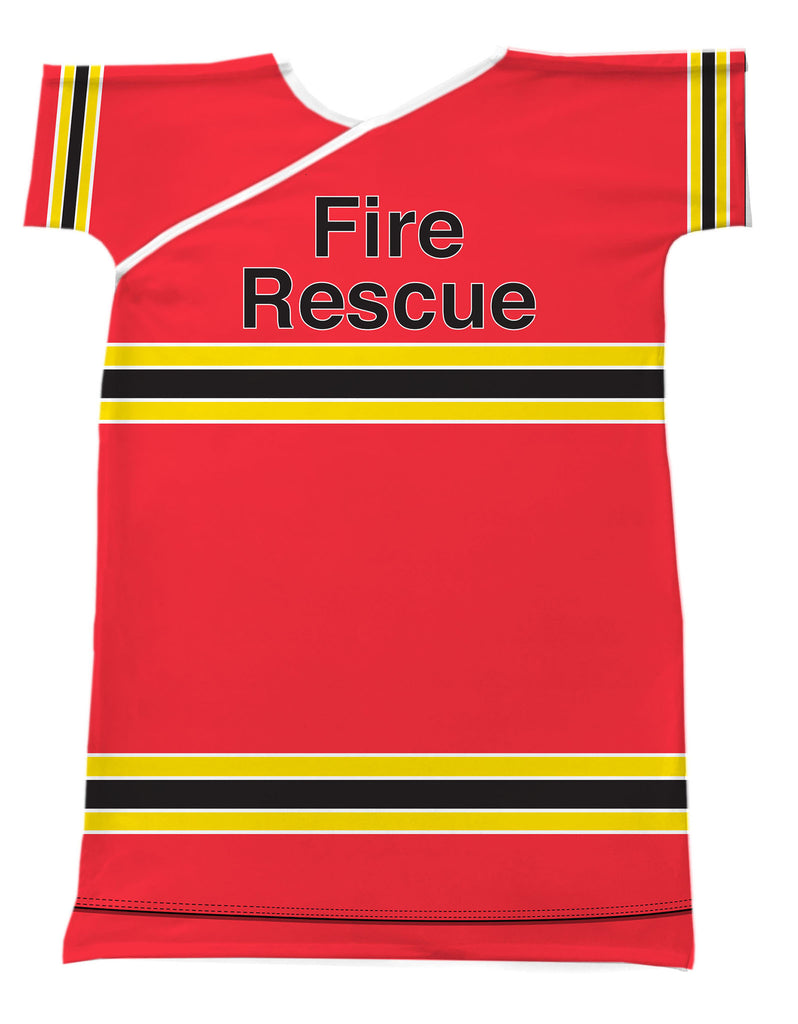 FIREFIGHTER BRAVE GOWN