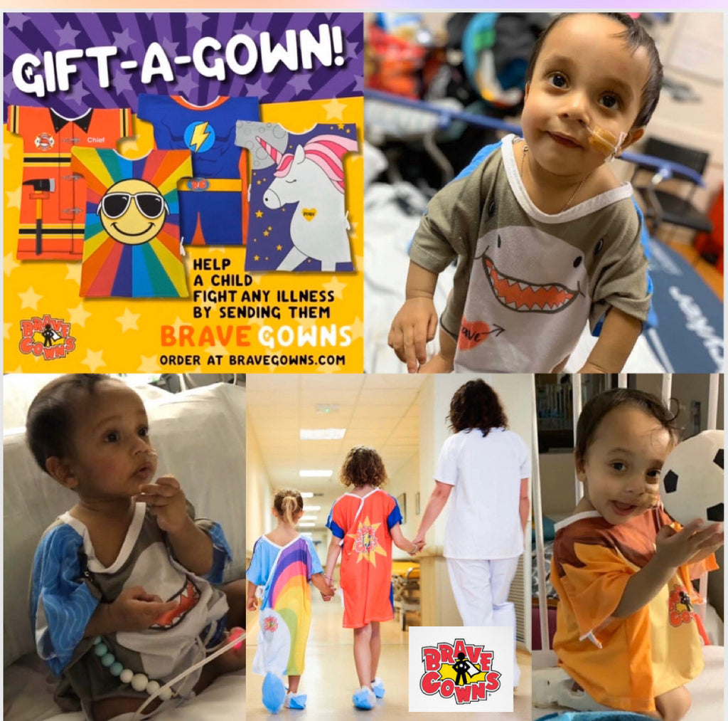 Prayers For Alexander Wants Your Help To Spread Brave Gowns To The Children's Hospital of Wisconsin