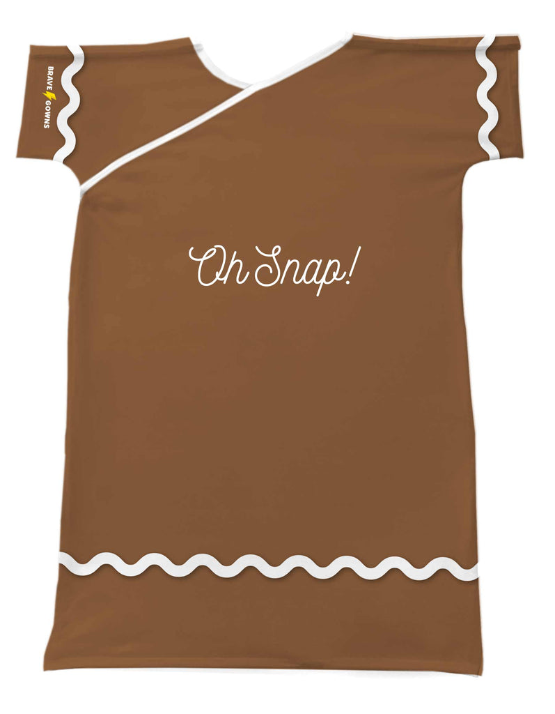 GINGERBREAD BRAVE GOWN