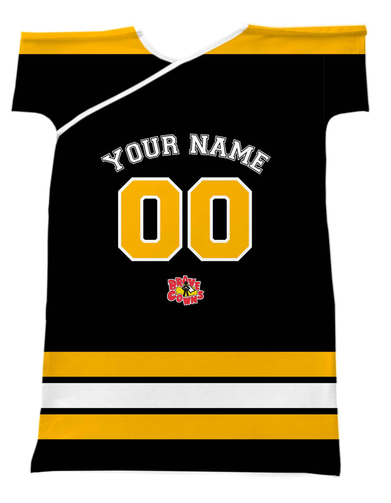 PERSONALIZE A HOCKEY JERSEY BRAVE GOWN